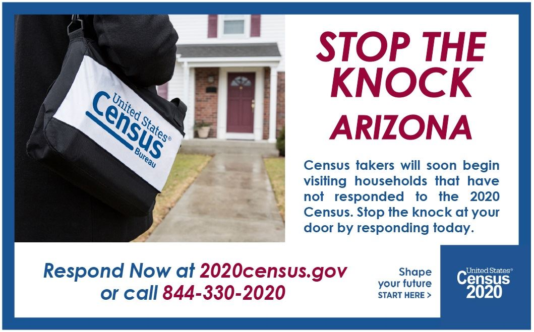 2020 Census STOP THE KNOCK